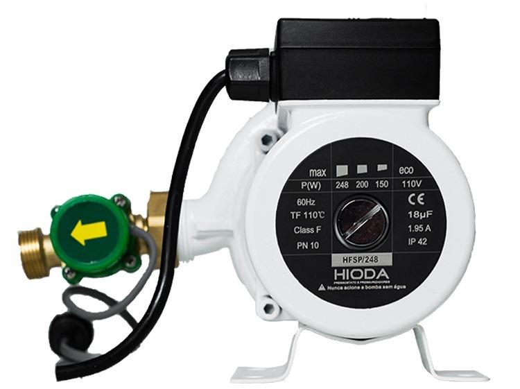 Mini Pressurizador e Circuladora Hioda HFSP 248
