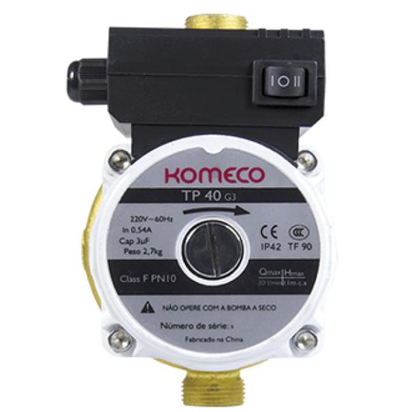 Mini Pressurizador Komeco TP 40 Bronze